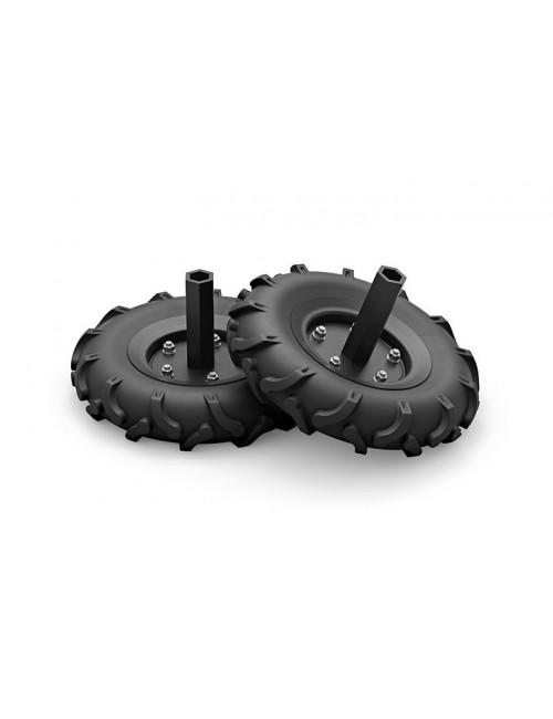 ART 012 Juego de ruedas de transporte neumáticas